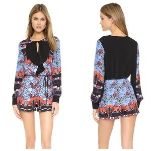 Clover Canyon New Horizons Long Sleeve Romper S